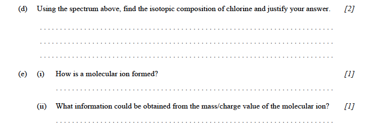 IB Chem, May 2001, HL, Paper 3
