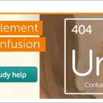Chegg Confusion - Periodic Table