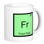 Fried Rice Periodic Table