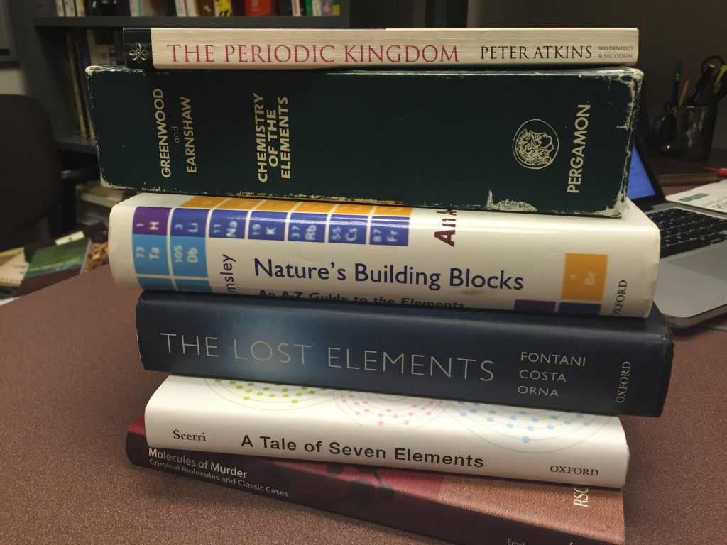 A Book List for Chemistry Teachers