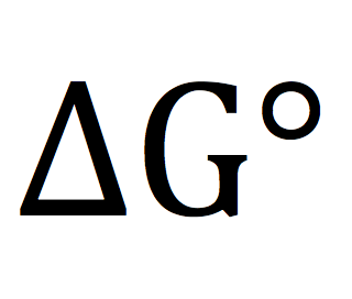 ∆G and ∆G° revisited