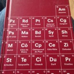Wine Book - Periodic Table