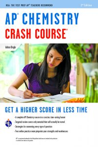 AP Chemistry Crash COurse Review Book