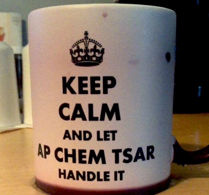 What's the point in having an AP Chemistry Czar? 5 things to take care of now!